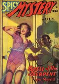 Spicy Mystery Stories Spell of the Serpent SC (2005 Adventure House) July 1941 Replica Edition 1-1ST
