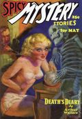 Spicy Mystery Stories Death's Diary SC (2005 Adventure House) May 1936 Replica Edition 1-1ST