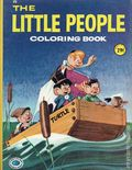 The Little People Coloring Book SC (1961 Treasure Books) 1-1ST