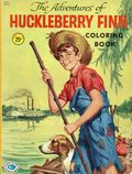 Adventures of Huckleberry Finn Coloring Book SC (1960 Treasure Books) 1-1ST