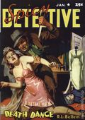 Spicy Detective Stories Death Dance SC (20057 Adventure House) January 1942 Replica Edition 1-1ST