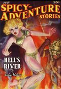 Spicy Adventure Stories Hell's River SC (2007 Adventure House) July 1937 Replica Edition 1-1ST