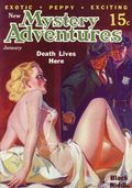 New Mystery Adventures Death Lives Here SC (2007 Adventure House) January 1936 Replica Edition 1-1ST