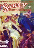 Saucy Romantic Adventures Emeralds Aboard! SC (2005 Adventure House) August 1936 Replica Edition 1-1ST