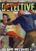 Speed Detective The Dame Dies Twice SC (2007 Adventure House) February 1943 Replica Edition 1-1ST