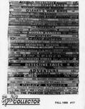 Pulp Collector (1985 Pulp Collector Press) 13