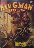Ace G-Man Stories (1936-1943 Popular Publications) Canadian Edition Vol. 9 #11
