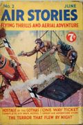Air Stories (UK Series 1935-1940 Newnes) Pulp Vol. 1 #2