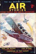 Air Stories (1935-1940 Pulp) UK Edition Vol. 1 #6
