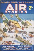 Air Stories (UK 1935-1940 Newnes) Pulp Vol. 4 #1