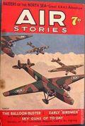 Air Stories (UK Series 1935-1940 Newnes) Pulp Vol. 4 #4