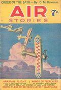 Air Stories (UK Series 1935-1940 Newnes) Pulp Vol. 4 #5