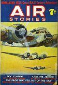 Air Stories (UK Series 1935-1940 Newnes) Pulp Vol. 4 #6