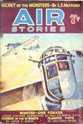 Air Stories (UK Series 1935-1940 Newnes) Pulp Vol. 5 #6