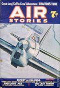 Air Stories (UK Series 1935-1940 Newnes) Pulp Vol. 6 #1