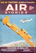 Air Stories (1935-1940 Pulp) UK Edition Vol. 6 #3