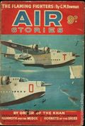 Air Stories (UK Series 1935-1940 Newnes) Pulp Vol. 7 #3