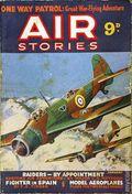 Air Stories (1935-1940 Pulp) UK Edition Vol. 8 #1