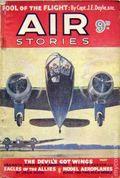 Air Stories (1935-1940 Pulp) UK Edition Vol. 8 #5