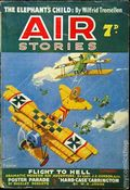 Air Stories (UK Series 1935-1940 Newnes) Pulp Vol. 9 #4