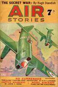 Air Stories (1935-1940 Pulp) UK Edition Vol. 9 #5