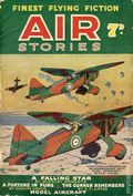 Air Stories (UK 1935-1940 Newnes) Pulp Vol. 10 #1