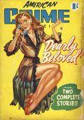 American Crime Magazine (1953-1955 Jatkins Publishing) Pulp 1
