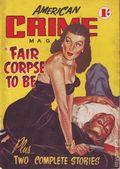 American Crime Magazine (1953-1955 Jatkins Publishing) Pulp 2