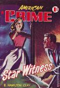 American Crime Magazine (1953-1955 Jatkins Publishing) Pulp 26