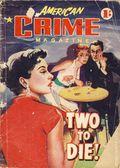 American Crime Magazine (1953-1955 Jatkins Publishing) Pulp 30
