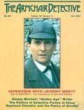 Armchair Detective (1967-1997 Mysterious Press) Vol. 18 #4