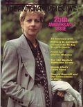 Armchair Detective (1967-1997 Mysterious Press) Vol. 25 #4