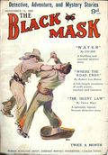 Black Mask (1923-1943 Atlas Publishing) British Reprint Edition Vol. 1 #11