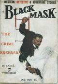 Black Mask (1923-1943 Atlas Publishing) British Reprint Edition Vol. 8 #3