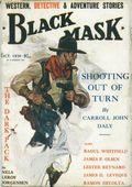 Black Mask (1923-1943 Atlas Publishing) British Reprint Edition Vol. 9 #1
