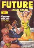 Future Science Fiction (1951-1954 Columbia Publications) Pulp UK 1