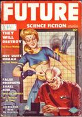 Future Science Fiction (1951-1954 Columbia Publications) Pulp UK 6