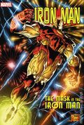 Iron Man Mask in the Iron Man Omnibus HC (2019 Marvel) 1-1ST