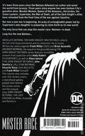 Absolute Batman The Dark Knight III The Master Race HC (2019 DC) 1-1ST