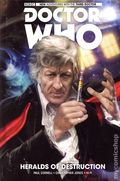 Doctor Who HC (2017 Titan Comics) The New Adventures with the Third Doctor 1-1ST