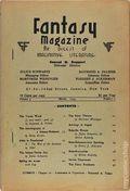 Fantasy Magazine (1932-1937 Science Fiction Digest) Fanzine Vol. 3 #1