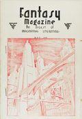 Fantasy Magazine (1932-1937 Science Fiction Digest) Fanzine Vol. 3 #3