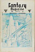 Fantasy Magazine (1932-1937 Science Fiction Digest) Fanzine Vol. 3 #4