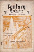 Fantasy Magazine (1932-1937 Science Fiction Digest) Fanzine Vol. 3 #6