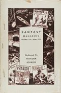 Fantasy Magazine (1932-1937 Science Fiction Digest) Fanzine Vol. 4 #3