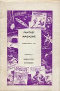 Fantasy Magazine (1932-1937 Science Fiction Digest) Fanzine Vol. 4 #4