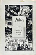 Fantasy Magazine (1932-1937 Science Fiction Digest) Fanzine Vol. 4 #5