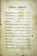 Fantasy Magazine (1932-1937 Science Fiction Digest) Fanzine Vol. 5 #3