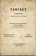 Fantasy Magazine (1932-1937) Fanzine Vol. 6 #5