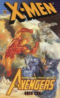 X-Men/Avengers Gamma Quest PB (1999 A Byron Preiss Novel) 3-1ST
